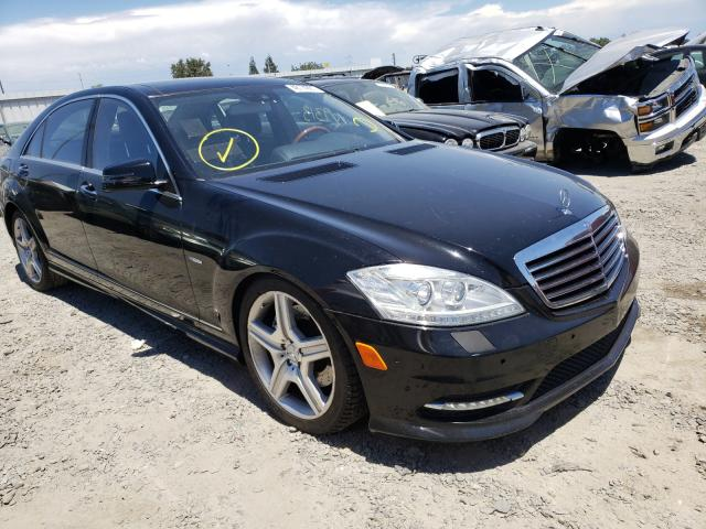 Salvage cars for sale at Sacramento, CA auction: 2012 Mercedes-Benz S 550 4matic