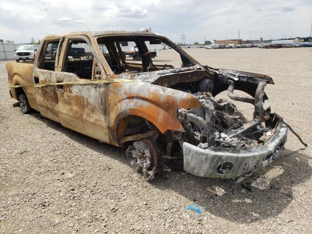 Salvage cars for sale from Copart Bismarck, ND: 2011 Ford F150 Super