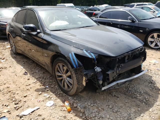 Vehiculos salvage en venta de Copart Austell, GA: 2017 Infiniti Q50 Premium