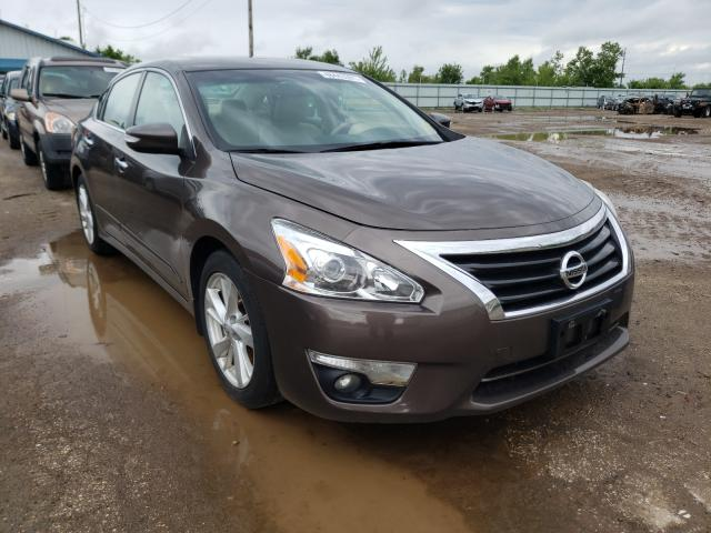 Salvage cars for sale from Copart Pekin, IL: 2015 Nissan Altima 2.5