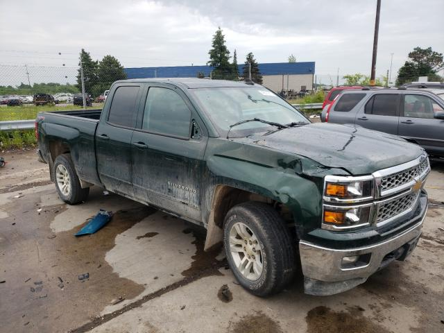Salvage trucks for sale at Woodhaven, MI auction: 2015 Chevrolet Silverado