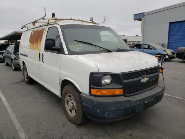 Salvage cars for sale from Copart Hayward, CA: 2003 Chevrolet Express G1