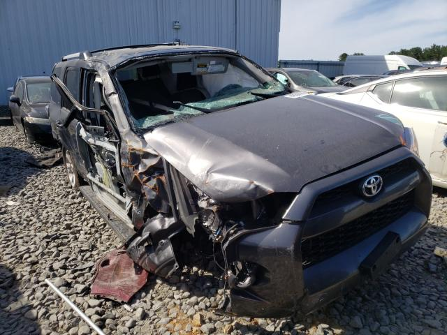 Salvage cars for sale from Copart Windsor, NJ: 2019 Toyota 4runner SR