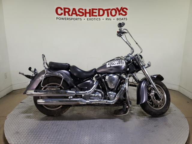 Salvage motorcycles for sale at Dallas, TX auction: 2008 Yamaha XV1700 A