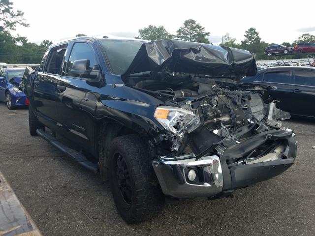 Salvage cars for sale from Copart Eight Mile, AL: 2016 Toyota Tundra CRE