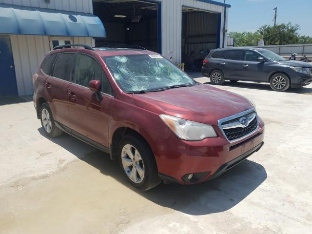 2015 SUBARU FORESTER 2.5I LIMITED, JF2SJAHC8FH****** - 1