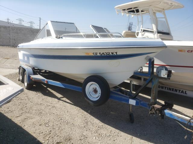 Salvage cars for sale from Copart Rancho Cucamonga, CA: 1993 Hyde Marine Trailer