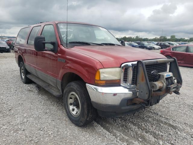 Vehiculos salvage en venta de Copart Des Moines, IA: 2001 Ford Excursion