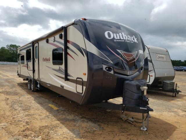 Keystone Outback salvage cars for sale: 2017 Keystone Outback