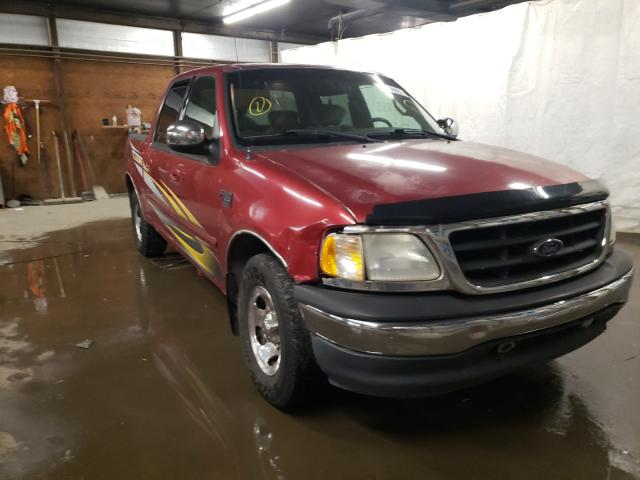 Salvage cars for sale from Copart Ebensburg, PA: 2001 Ford F150 Super