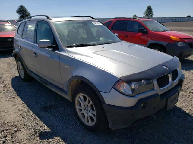 Salvage cars for sale from Copart Airway Heights, WA: 2005 BMW X3 2.5I