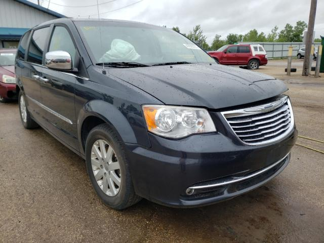 Salvage cars for sale from Copart Pekin, IL: 2014 Chrysler Town & Country