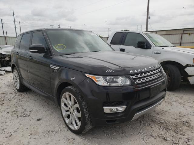 Salvage cars for sale from Copart Haslet, TX: 2014 Land Rover Range Rover