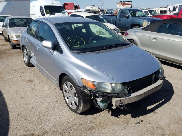 Salvage cars for sale from Copart Tucson, AZ: 2008 Honda Civic LX