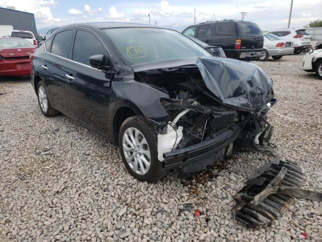 Salvage cars for sale at Magna, UT auction: 2018 Nissan Sentra S