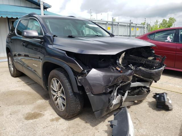 Salvage cars for sale from Copart Pekin, IL: 2018 GMC Acadia SLE