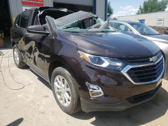 Salvage cars for sale from Copart Duryea, PA: 2020 Chevrolet Equinox LT