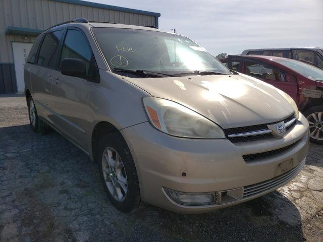 Salvage cars for sale from Copart Chambersburg, PA: 2004 Toyota Sienna XLE
