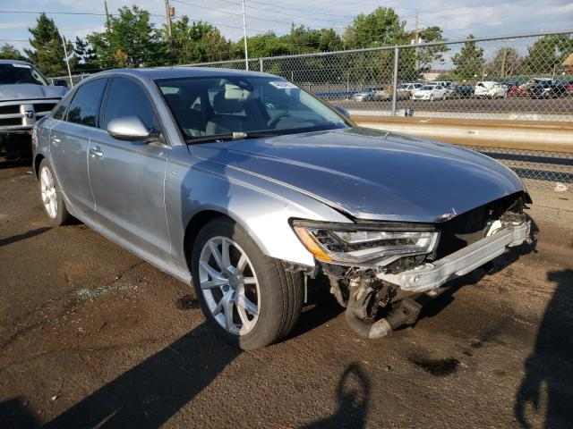 Salvage cars for sale from Copart Denver, CO: 2015 Audi A6 Prestige