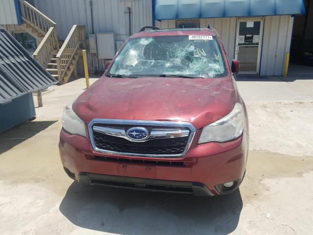 2015 SUBARU FORESTER 2.5I LIMITED, JF2SJAHC8FH****** - 9