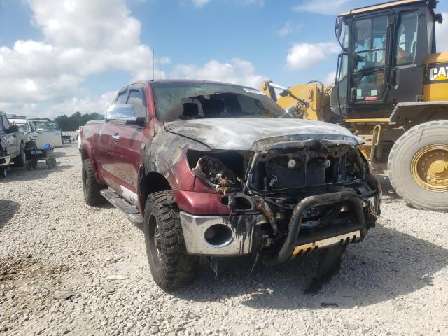 Salvage cars for sale from Copart Memphis, TN: 2010 Toyota Tundra DOU