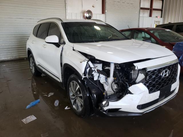 Salvage cars for sale from Copart Albany, NY: 2019 Hyundai Santa FE S