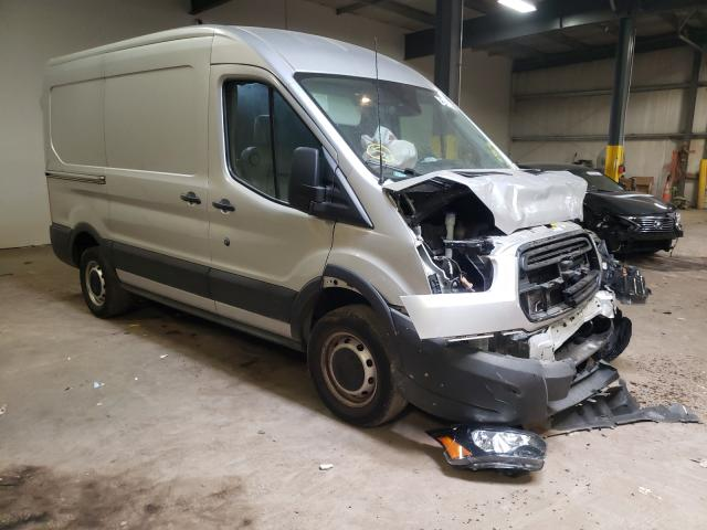 Salvage cars for sale from Copart Chalfont, PA: 2019 Ford Transit T