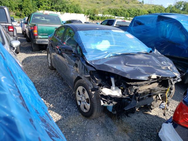 KIA salvage cars for sale: 2015 KIA Forte LX