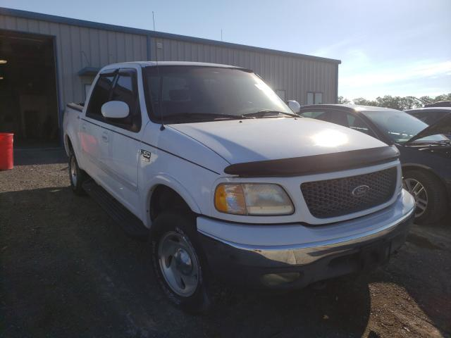 Salvage cars for sale from Copart Chambersburg, PA: 2001 Ford F150 Super