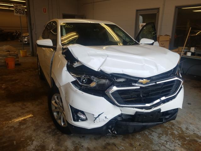 Salvage cars for sale from Copart Wheeling, IL: 2019 Chevrolet Equinox LT