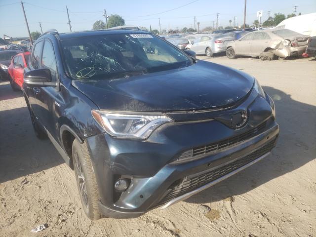 Toyota Vehiculos salvage en venta: 2018 Toyota Rav4 HV SE