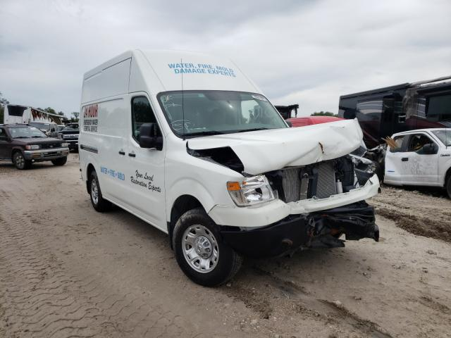 Salvage cars for sale from Copart Punta Gorda, FL: 2021 Nissan NV 2500 S