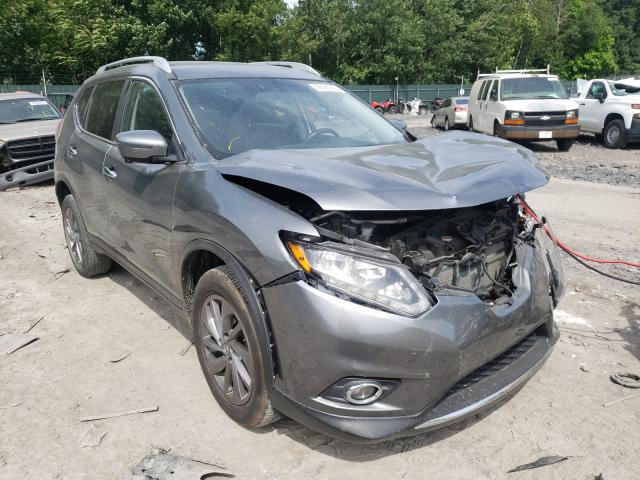Salvage cars for sale from Copart Duryea, PA: 2016 Nissan Rogue S