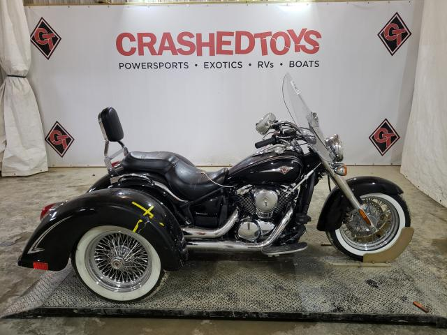 Salvage motorcycles for sale at Columbia, MO auction: 2011 Kawasaki VN900 B