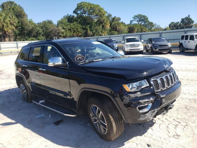 Salvage cars for sale from Copart Fort Pierce, FL: 2021 Jeep Grand Cherokee