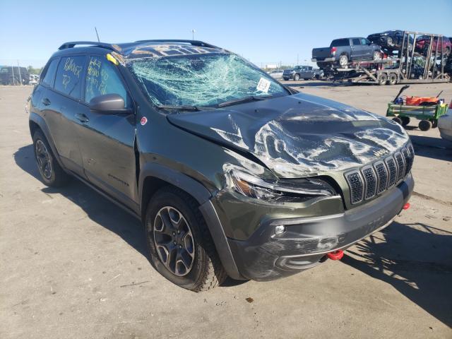 Vehiculos salvage en venta de Copart Woodhaven, MI: 2020 Jeep Cherokee T