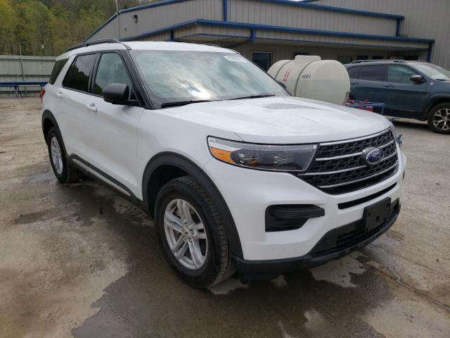 Salvage cars for sale from Copart Ellwood City, PA: 2020 Ford Explorer X