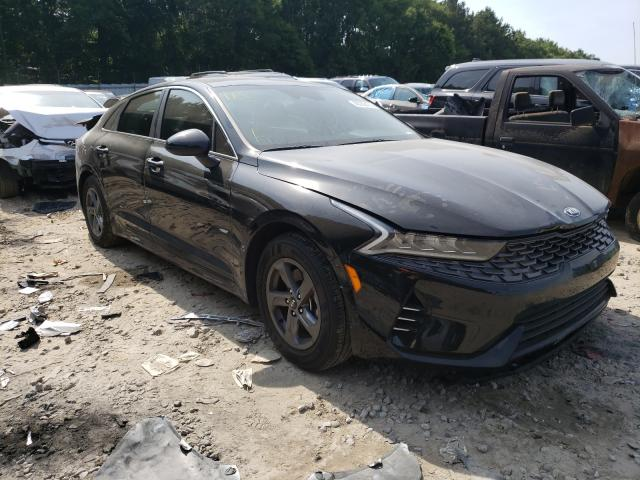 Salvage cars for sale from Copart Austell, GA: 2021 KIA K5 LX