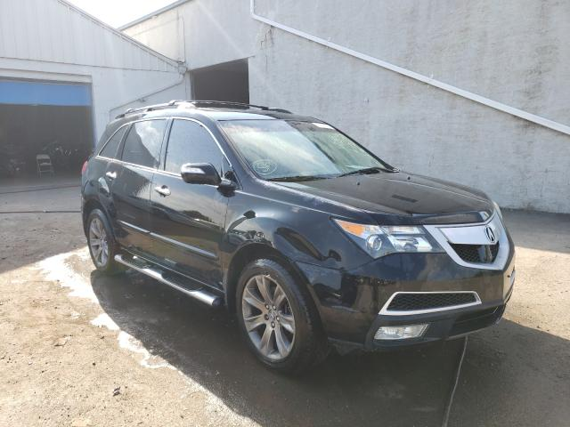 Salvage cars for sale from Copart Hillsborough, NJ: 2011 Acura MDX Advance