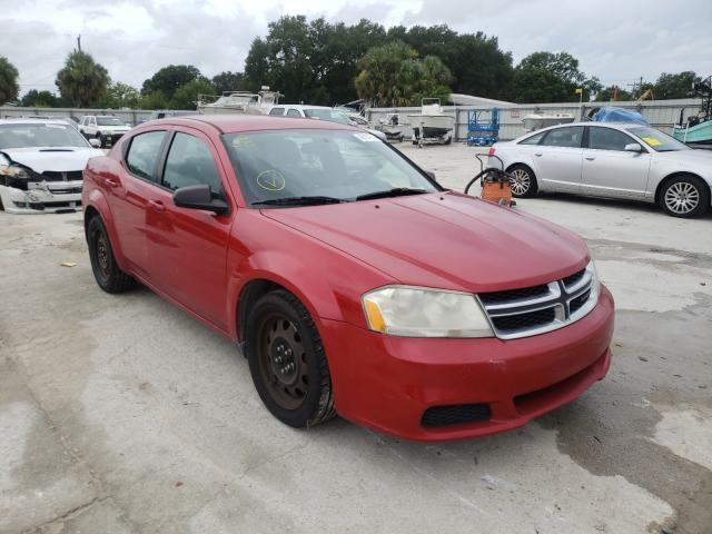 Salvage cars for sale from Copart Punta Gorda, FL: 2013 Dodge Avenger SE