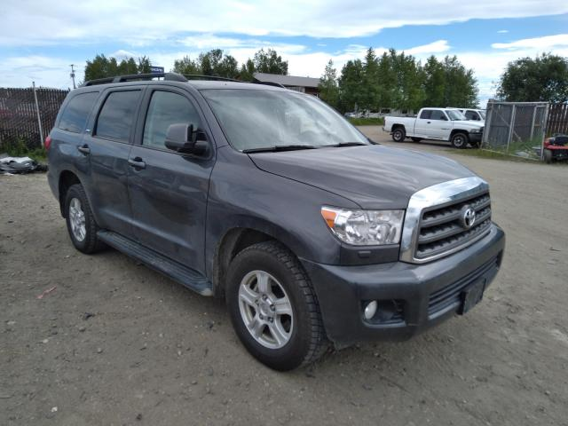 Salvage cars for sale from Copart Anchorage, AK: 2017 Toyota Sequoia