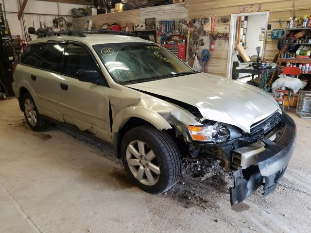 Salvage cars for sale from Copart Billings, MT: 2006 Subaru Legacy Outback
