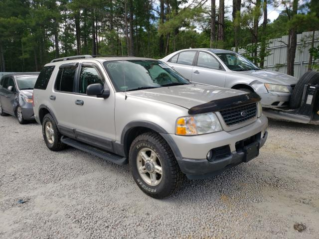Salvage cars for sale from Copart Knightdale, NC: 2003 Ford Explorer X