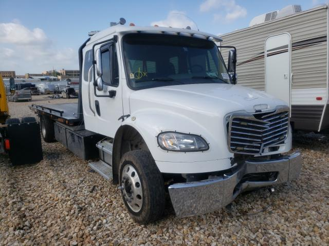 Salvage cars for sale from Copart Grand Prairie, TX: 2018 Freightliner M2 106 MED