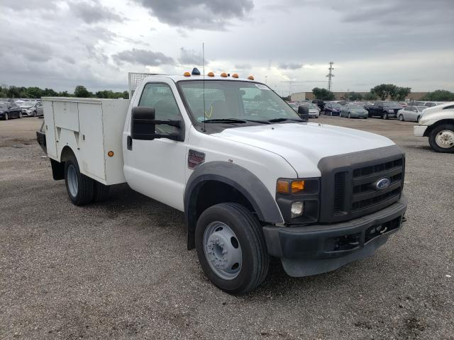 Salvage trucks for sale at Orlando, FL auction: 2008 Ford F450 Super