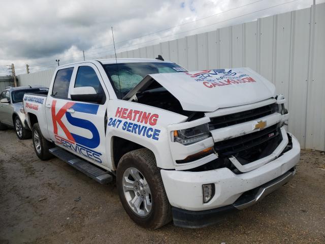 Salvage cars for sale from Copart Montgomery, AL: 2017 Chevrolet Silverado
