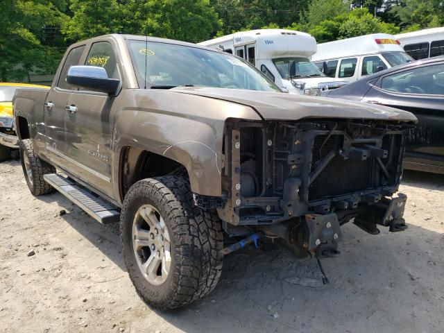 Salvage cars for sale from Copart Mendon, MA: 2014 Chevrolet Silverado