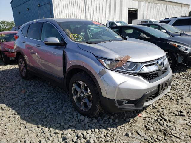 Salvage cars for sale from Copart Windsor, NJ: 2017 Honda CR-V EXL