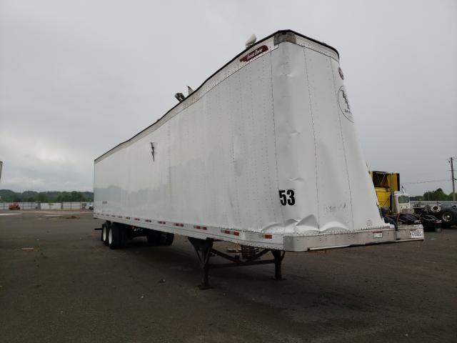 Salvage trucks for sale at Alorton, IL auction: 2016 Great Dane DRY Van