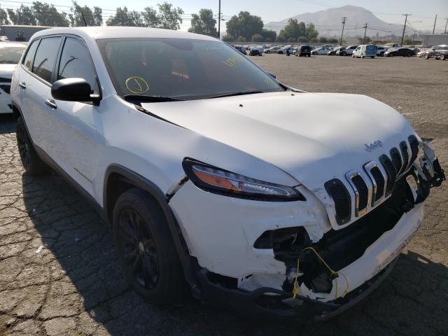 Vehiculos salvage en venta de Copart Colton, CA: 2016 Jeep Cherokee S